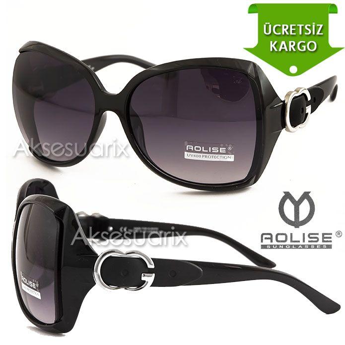 Vintage Aolise  Bayan Güneş Gözlüğü T51140 SİYAH http://www.aksesuarix.com/bayan-gunes-gozlugu