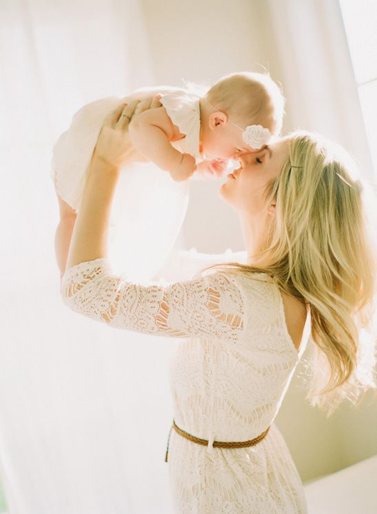 Mama and baby - I love this session! Beautiful, light-filled family session