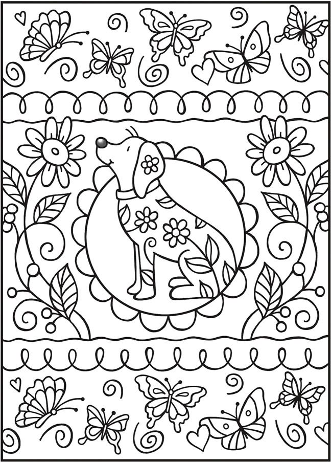 Love Colouring Patterns Book : 428 best dover samples colouring pages images on pinterest
