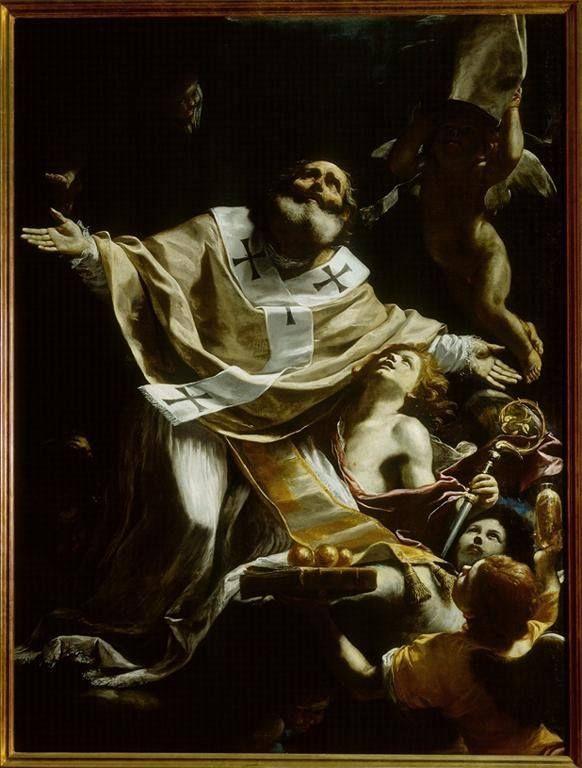 Mattia Preti, Estasi di San Nicola da Bari, 1653