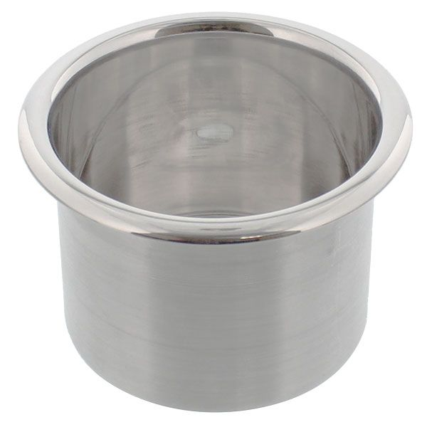 Check out the deal on Spun Aluminum Large Cup Holder Insert at CupHoldersPlus.com