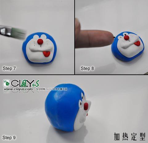 Hướng dẫn nặn Doraemon - Part 2 - Head