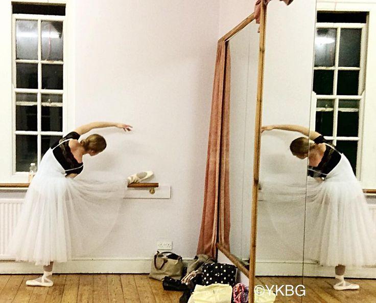 A #degas - esque moment during a #YKBG #rehearsal #ballet #romantictutu #adultballet #oxford #lifeofadancer