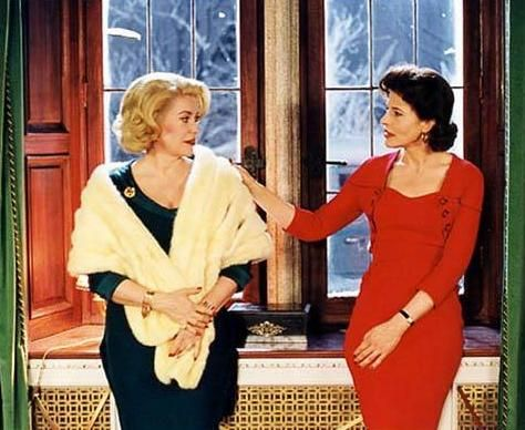 Catherine Deneuve and Fanny Ardant | Flickr - Photo Sharing!