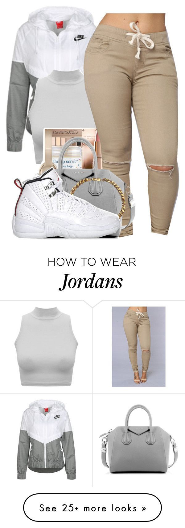 """SIMPLE"" by alexanderbianca on Polyvore featuring NIKE, Givenchy and Retrò"