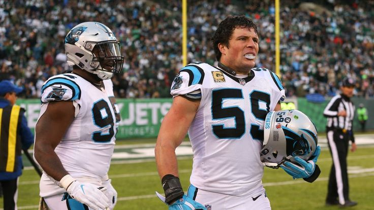 Panthers linebacker Luke Kuechly was named NFC Defensive Player of the Week for his performance in Week 12 against the New York Jets.