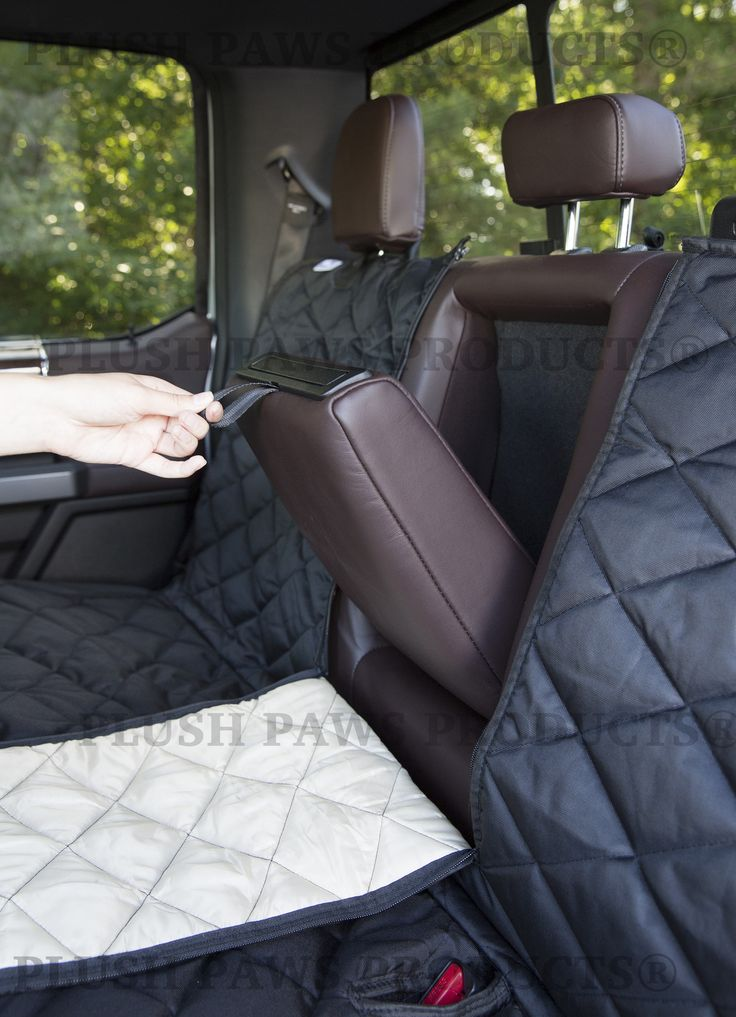 Custom Seat Cover With Detachable Hammock For Trucks Cars SUVs