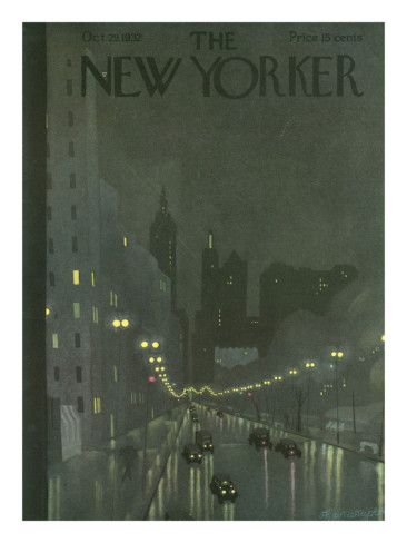 The New Yorker Cover - October 29, 1932 .