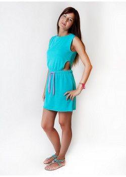 Sour Lou Lou Mini Veraman Dress.