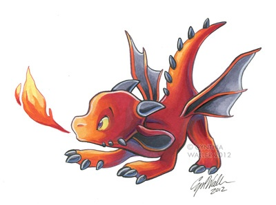 Dragon's Ember - by Tigsie