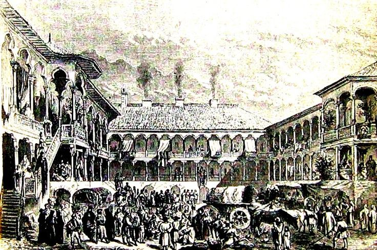 Manuc Inn 1868 #Bucharest #Romania