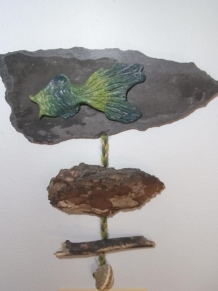 Clay sealife wall art