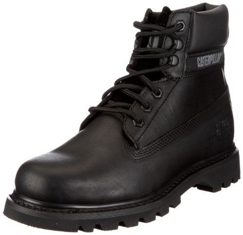 Caterpillar Bruiser, Homme, Chaussures montantes: Caterpillar Mens Bruiser Non Safety Leather Boots Black Lace Up Full Grain Leather Upper.…