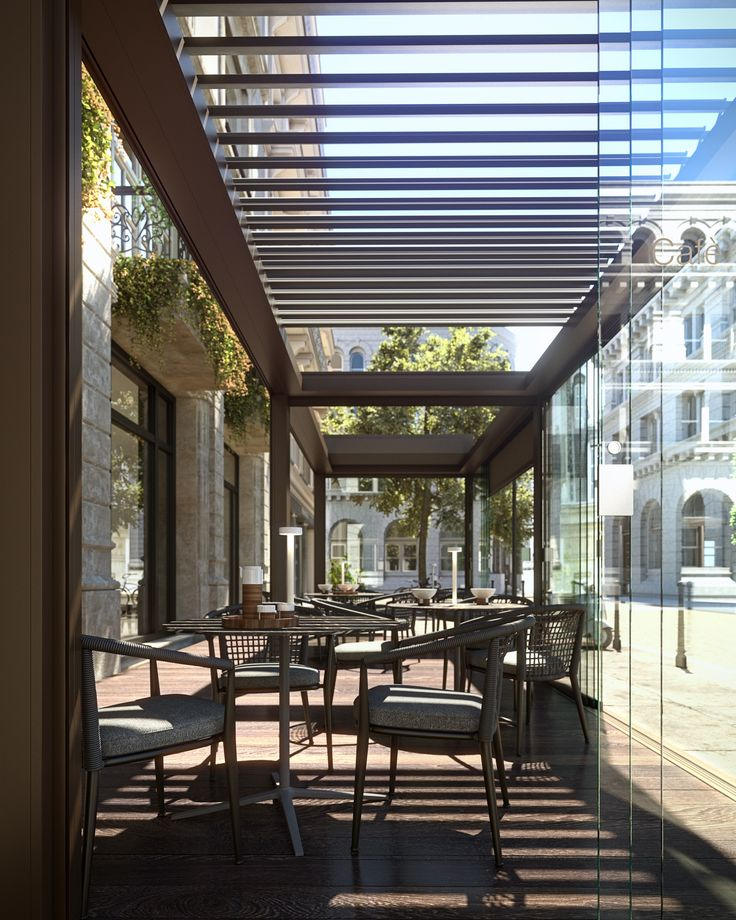 Brera, the new bioclimatic pergola. With one quick, silent