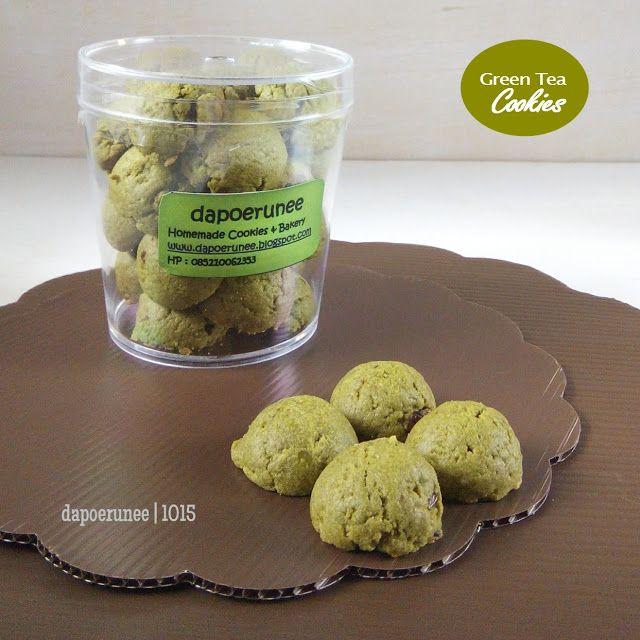 dapoerunee : Green tea Cookies