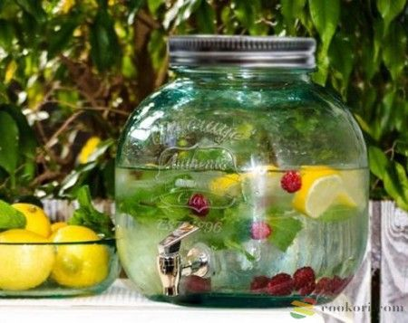 Csapos limonádés üveg 6L – Cookori Konyhafelszerelés