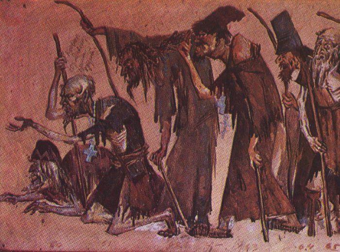 Эскиз художника Ф. Ф. Федоровского к опере «Борис Годунов». Большой театр, 1927 год