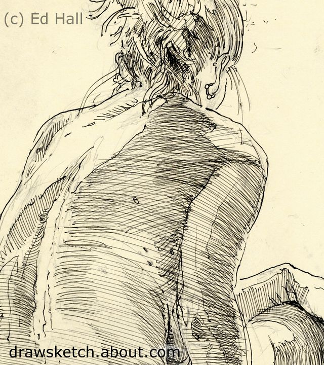 Directional Hatching and Cross Contour Figure Drawing: Plane and Contour in Figure Drawing