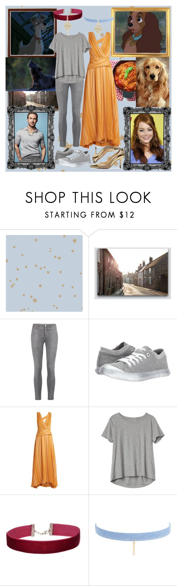 """""""Bella Notte"""" by fandom-girl365790 ❤ liked on Polyvore featuring Cole & Son, Current/Elliott, Rocket Dog, Zeus+Dione, Gap, Miss Selfridge, Jules Smith and Rembrandt Charms"""