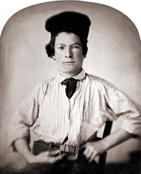 Samuel Clemens at age 11. He is known  better bye the name Mark Twain