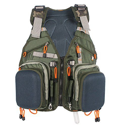 Kylebooker Fly Fishing Backpack & Vest Combo- Premium Fishing Tackle Vest For Men & Women- Upgraded Design Adjustable Fly Fishing Accessory For Fishing Gear Organization  http://fishingrodsreelsandgear.com/product/kylebooker-fly-fishing-backpack-vest-combo-premium-fishing-tackle-vest-for-men-women-upgraded-design-adjustable-fly-fishing-accessory-for-fishing-gear-organization/  ★ Adjustable Fishing Vest for Men and Women ★Combined with a vest-style backpack and a v