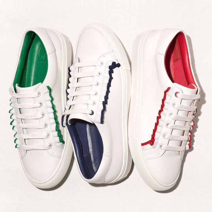 Visit Tory Burch to shop for Ruffle Sneaker . Find designer shoes,  handbags, clothing & more of this season's latest styles from designer Tory  Burch.