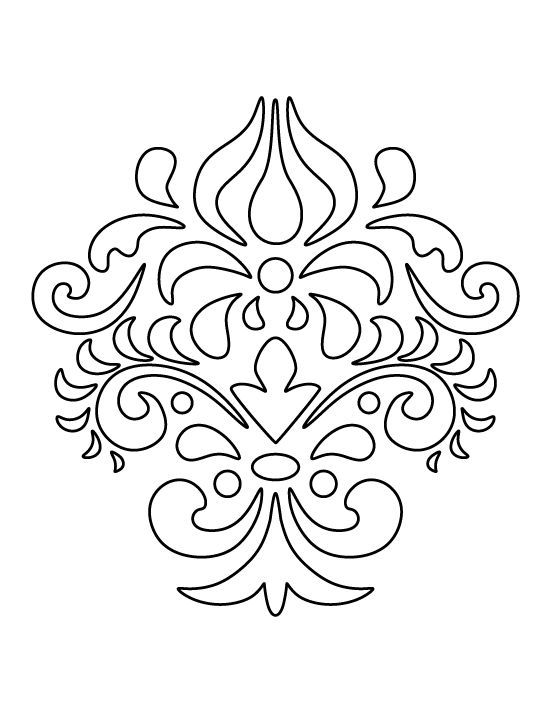 pattern coloring pages print out - photo#7