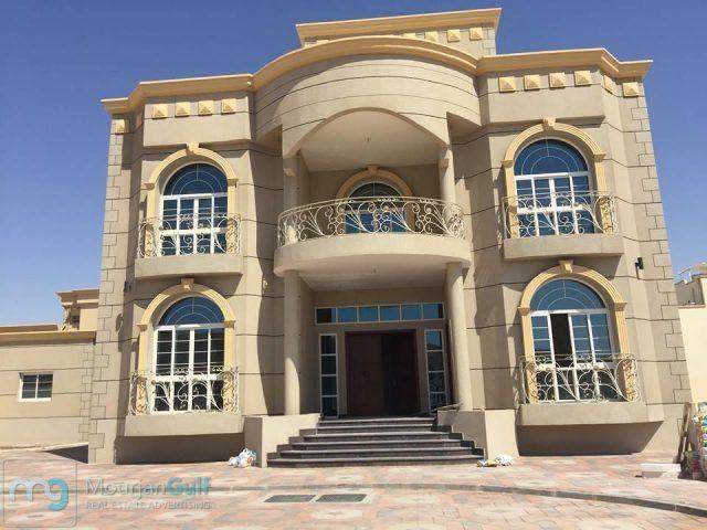 للايجار في فيلا راقي جدا بمدينة محمد بن زايد غرفه وصاله 2حمام مطبخ روف خاص باركن للسياره شامله الصيانه والكهرباء وال Beautiful Homes House Styles Mansions
