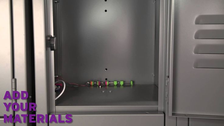 cool littleBits Locker Prank