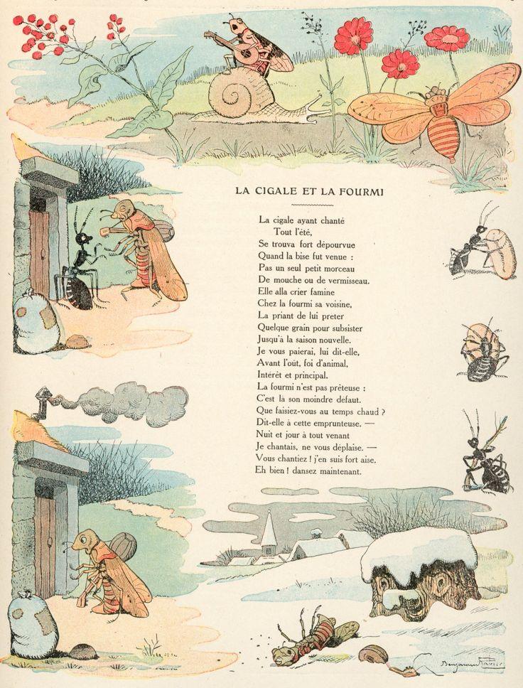 17 best images about a cigarra e a formiga on pinterest - Illustration la cigale et la fourmi ...