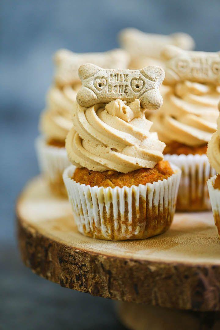 Peanut Butter Pupcakes – Gönnen Sie Ihrem Welpen diese hundefreundlichen Cupcakes …   – fur babies