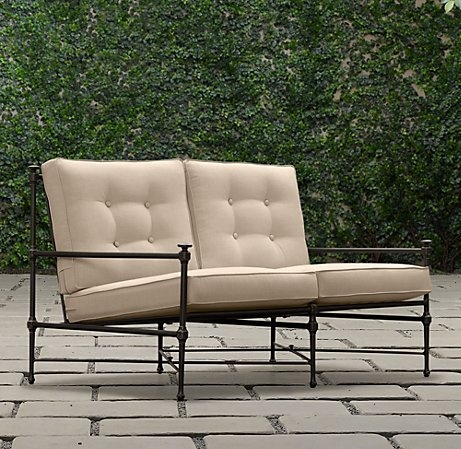 Outdoor Love Seat. Set Of Two. Outdoor LoungeSofaLounges