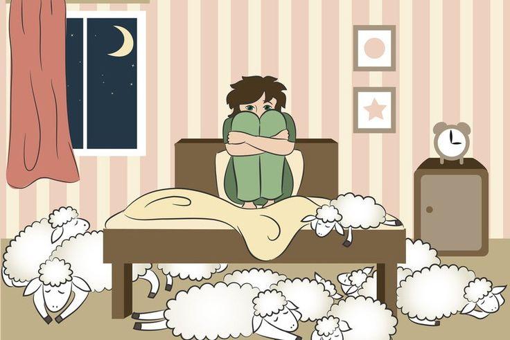 Passer une nuit blanche: ne pas dormir, avoir de l'insomnie