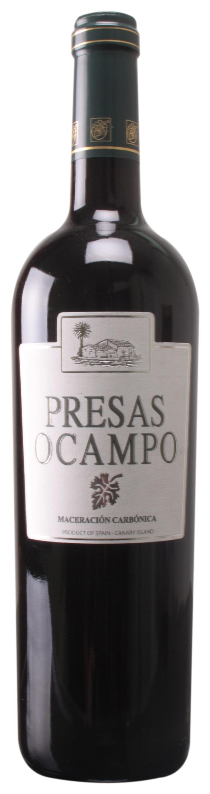 Presas Ocampo Maceración Carbónica 2012 (D.O. Tacoronte-Acentejo) #VinosdeTenerife