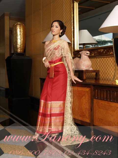 Khmerthailao Traditional Wedding Dress Laos And Thai