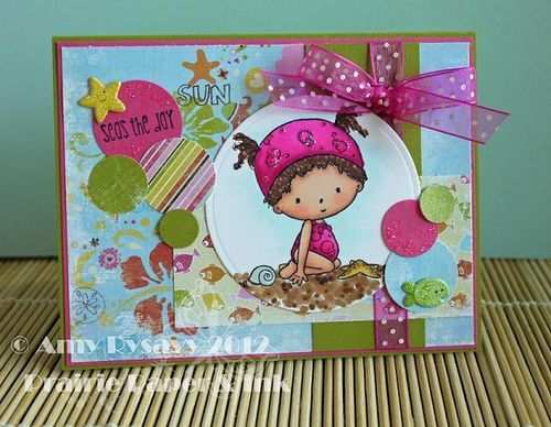 so cute!Ink Cards, Paper 34, Cards Ideas, Summer Cards, Paper Projects, Amyr Summer, Paper Crafts, Diy Cards, Cards Series