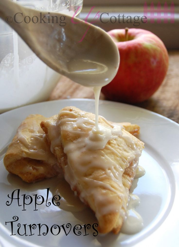 Apple Turnovers - Are you looking for the perfect breakfast pastry? Well here it is with all of it is flaky apple deliciousness. This apple turnover is so good your kids will want to get up early to eat breakfast. Put away the Pop Tarts.  Forget about the Toaster Strudels. It's time to get out the fresh apples and spices that will have your kids running for the dinning room table.