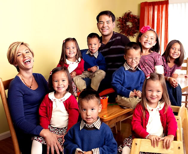 Jon & Kate Plus Eight...I think there all so cute together