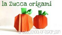 Idee per l'autunno e Halloween: la zucca 3D fatta a origami