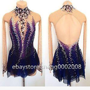 Image result for purple ice skate dress