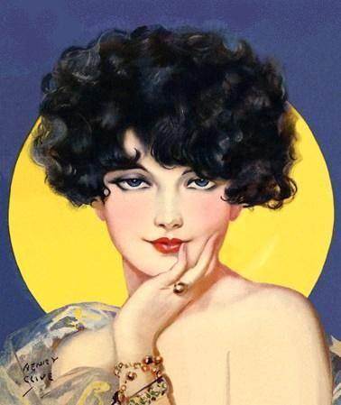 artdeco.quenalbertini: Deco Lady by Henry Clive | vintage-rama.blogspot.cl/2011/04/henry-clive-1882-1960.html