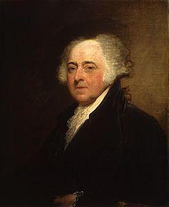 John Adams (30 de octubre de 1735-4 de julio de 1826) fue el segundo presidente de los Estados Unidos. Es considerado como uno de los padres fundadores del país.