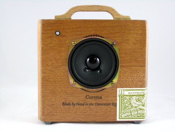 cigar box speaker for iphone