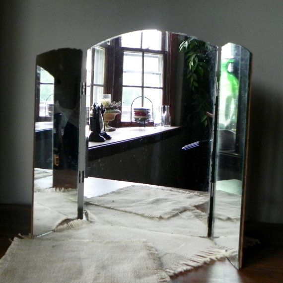 Tri Fold Vanity Mirror With Lights Cool 100 Best Tri Fold Vanity Mirror Images On Pinterest  Dressing Design Inspiration