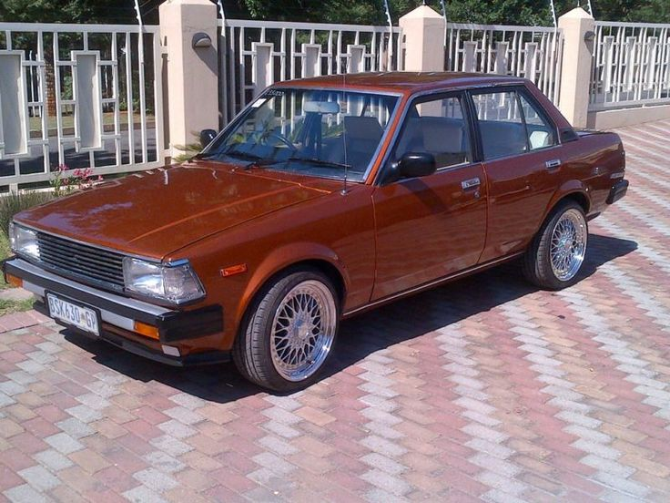 1983 Toyota Corolla Interior | Toyota Corolla Sedan 1983 ...