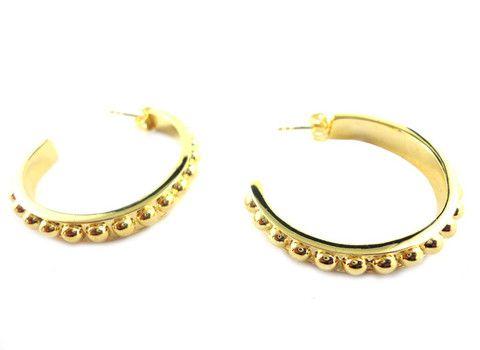 Dame Fancy Hoop Earrings