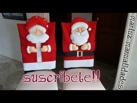 Aplicación de Santa para almohadón, funda de sillas, etc - YouTube