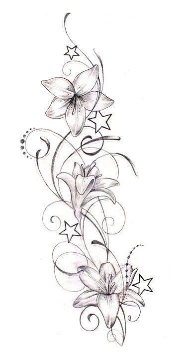tattoo tattoo blumenranken tattoo blumen tattoo. Black Bedroom Furniture Sets. Home Design Ideas