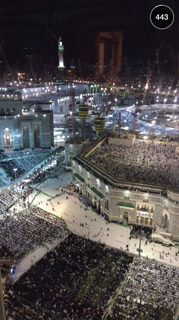 Masjid al-Haram - Meca, Arabia Saudita..