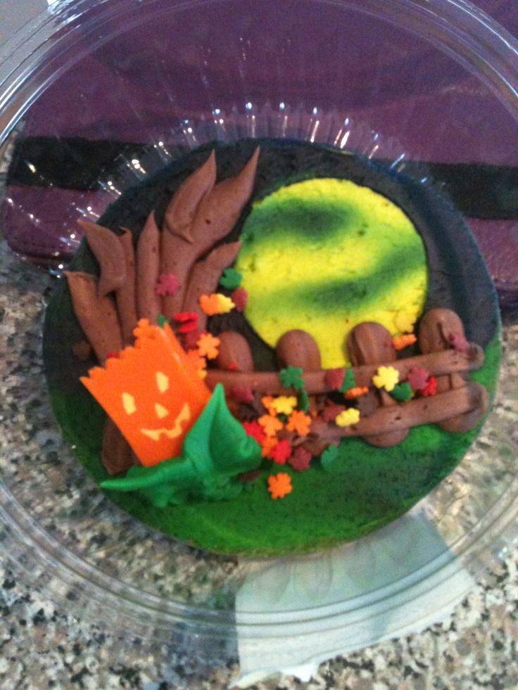 Hy-Vee cookie. Too pretty 2 eat!